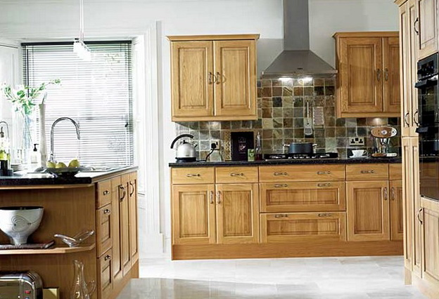 Denver Hickory Kitchen Cabinets