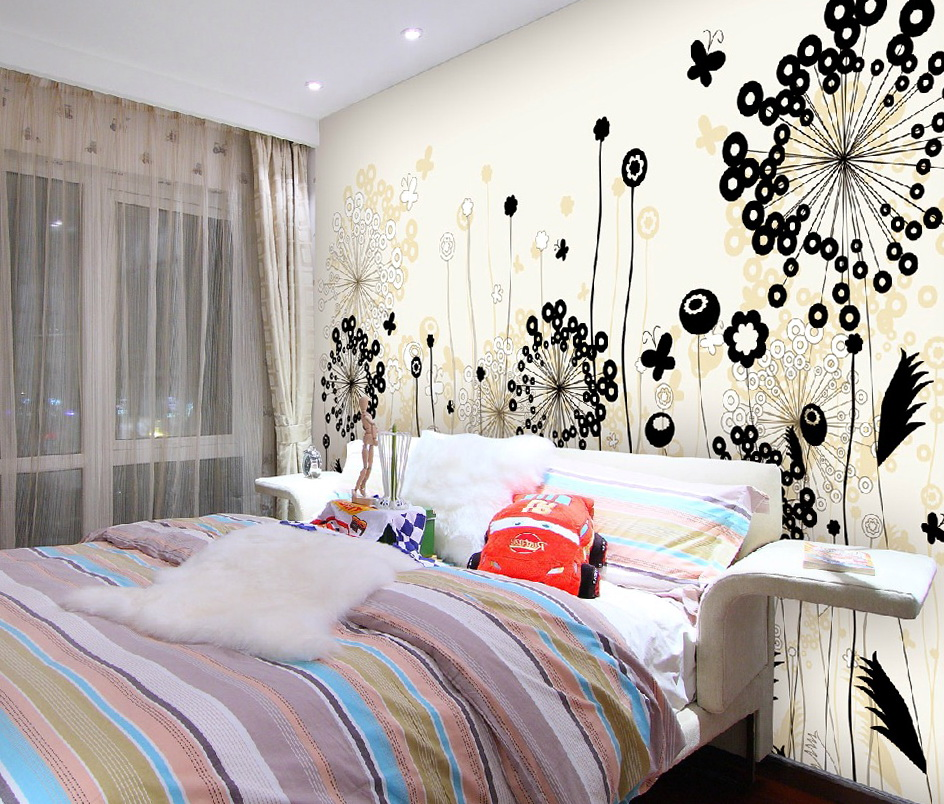 Design Wall Stickers For Bedrooms
