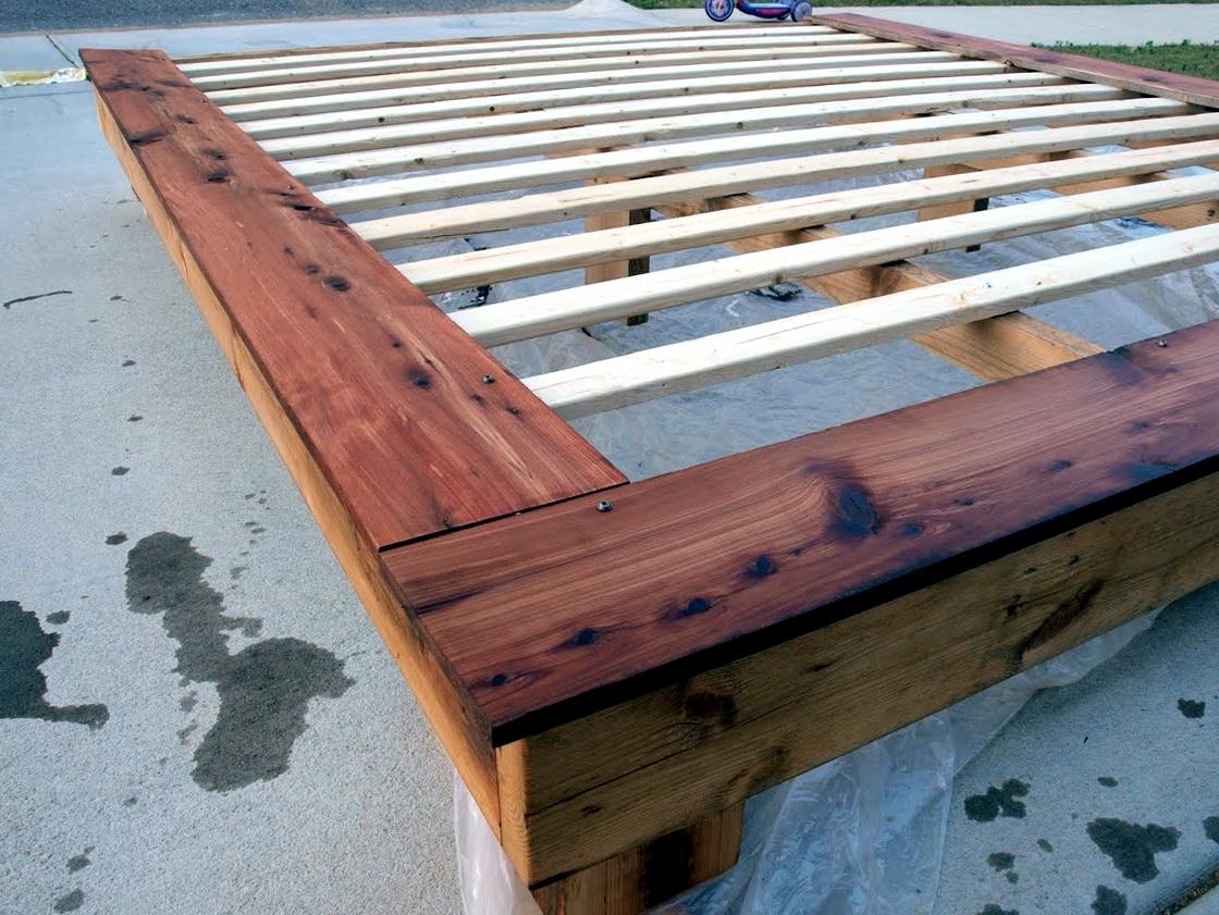 Diy King Size Platform Bed1