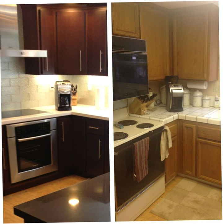 Diy Kitchen Remodel Before And After
