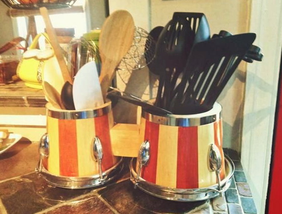 Diy Kitchen Utensil Holder