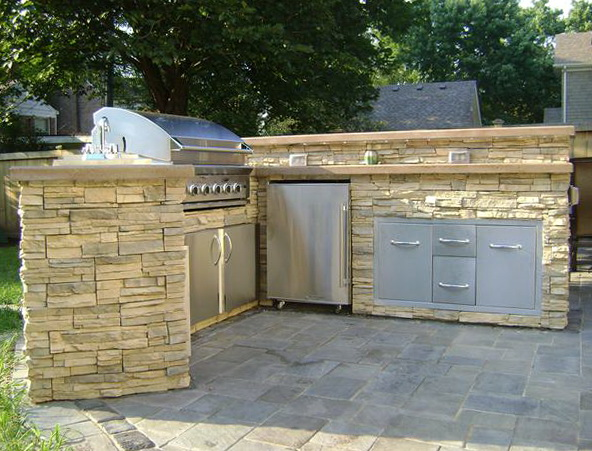 Diy Outdoor Kitchen On A Budget