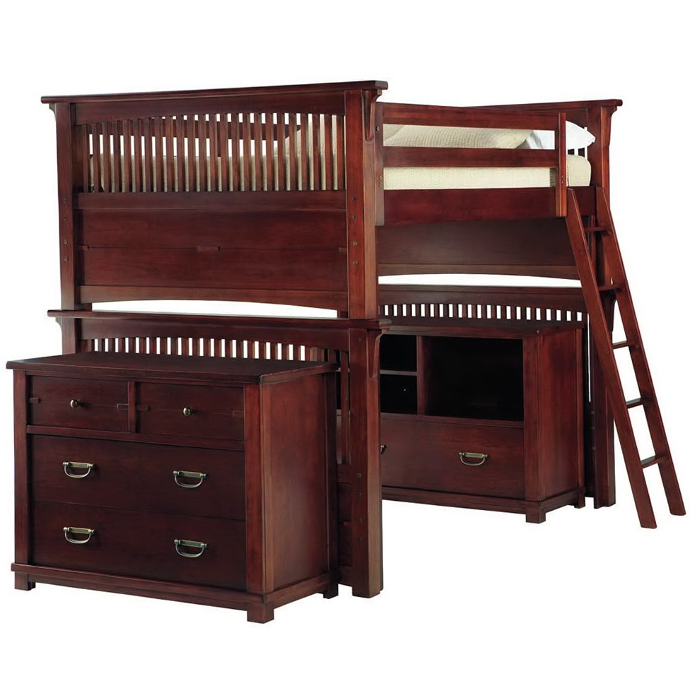 Double Bed Size Bunk Beds