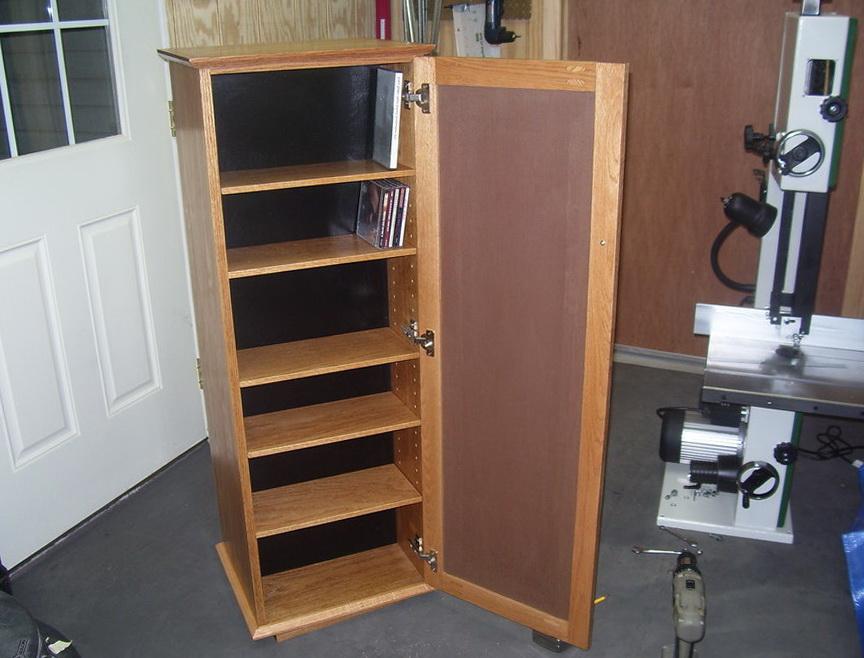 Dvd Storage Cabinet Plans