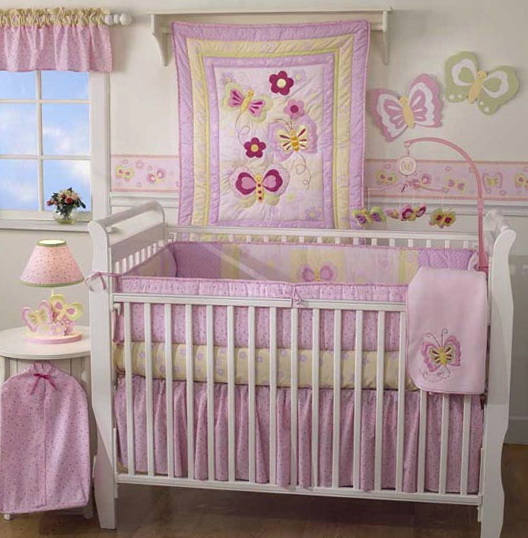 Elephant Baby Bedding For Girls