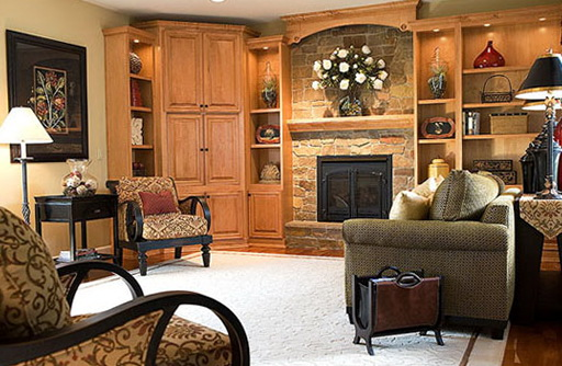 Family Room Ideas With Fireplace