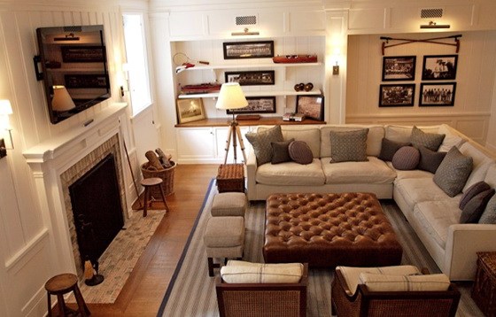 Family Room Ideas With Sectionals