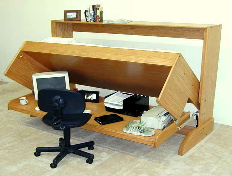 Fold Down Bed Desk
