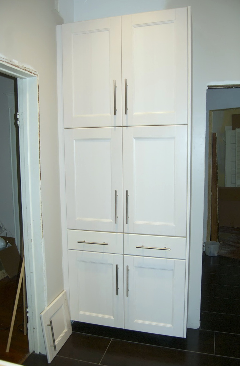 Full Height Corner Pantry Cabinet