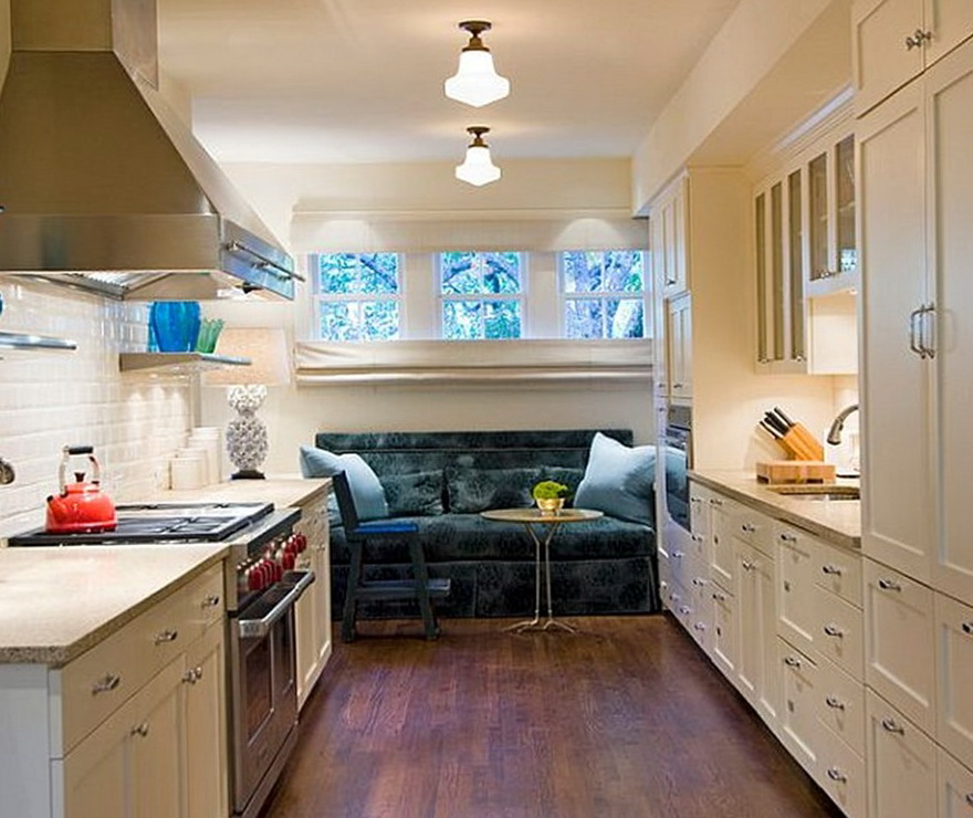 Galley Kitchen Design Ideas Of A Small Kitchen