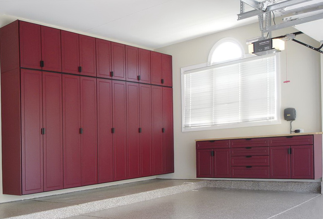 Garage Storage Cabinets Ideas
