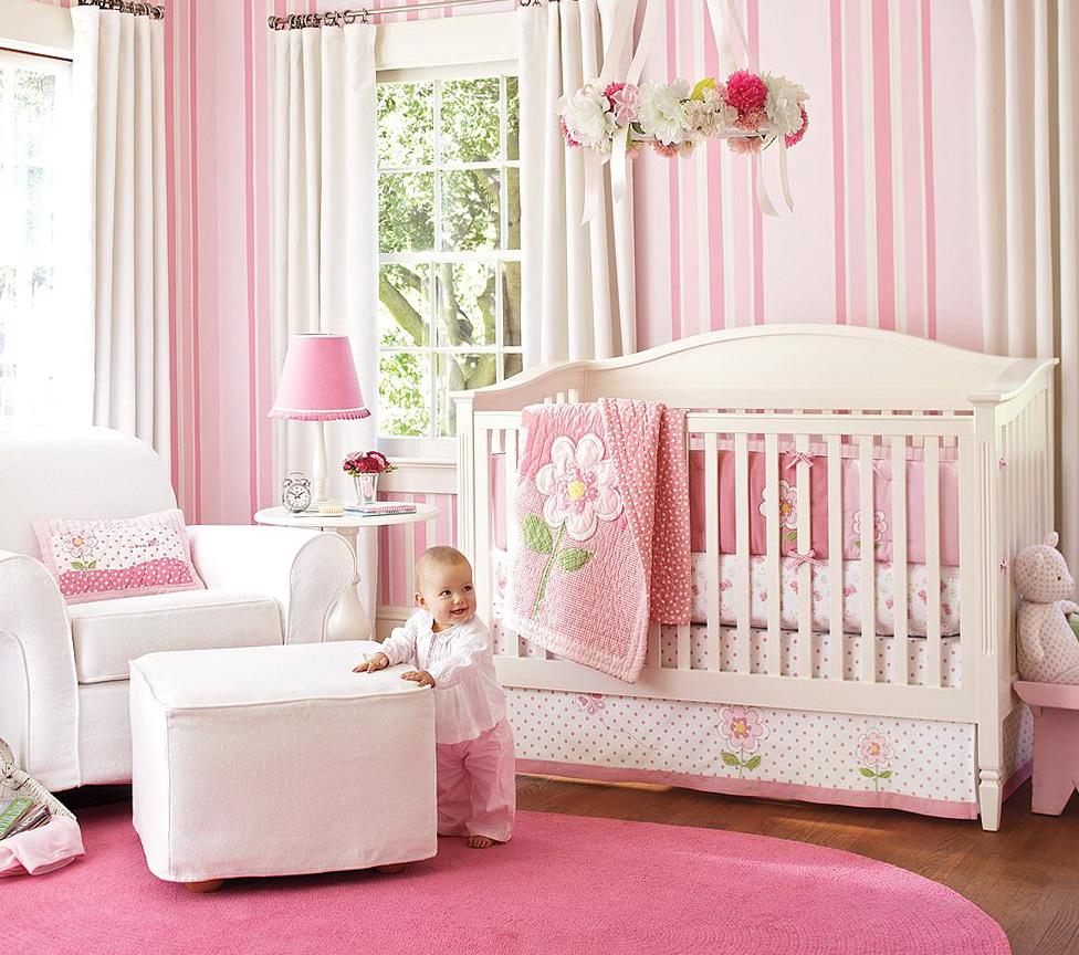 Girl Nursery Bedding Ideas
