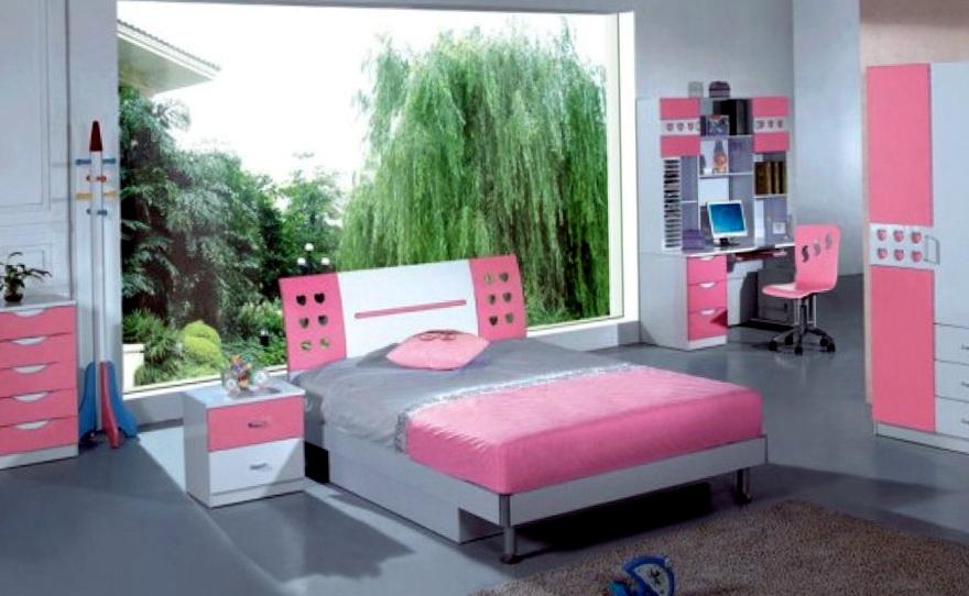 Girls Bedroom Sets With Desk