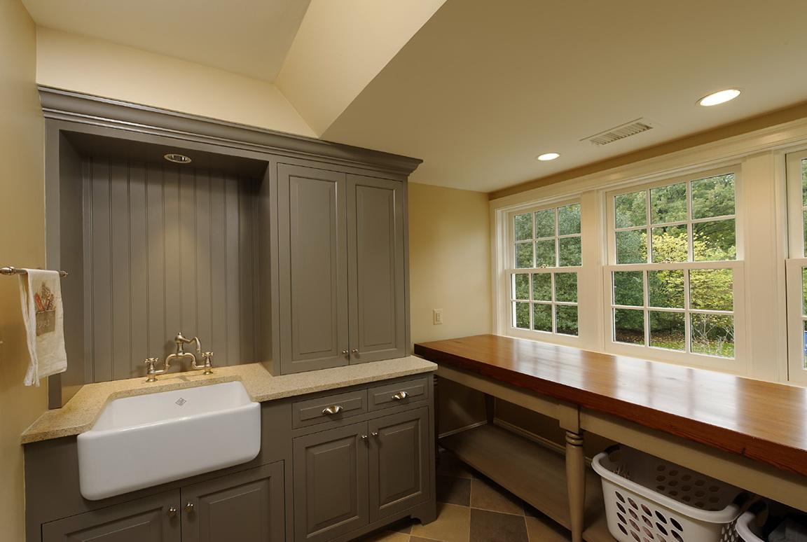 Glacier Bay Laundry Sink Cabinet