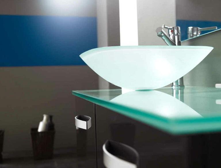 Glass Bathroom Vanity Tops