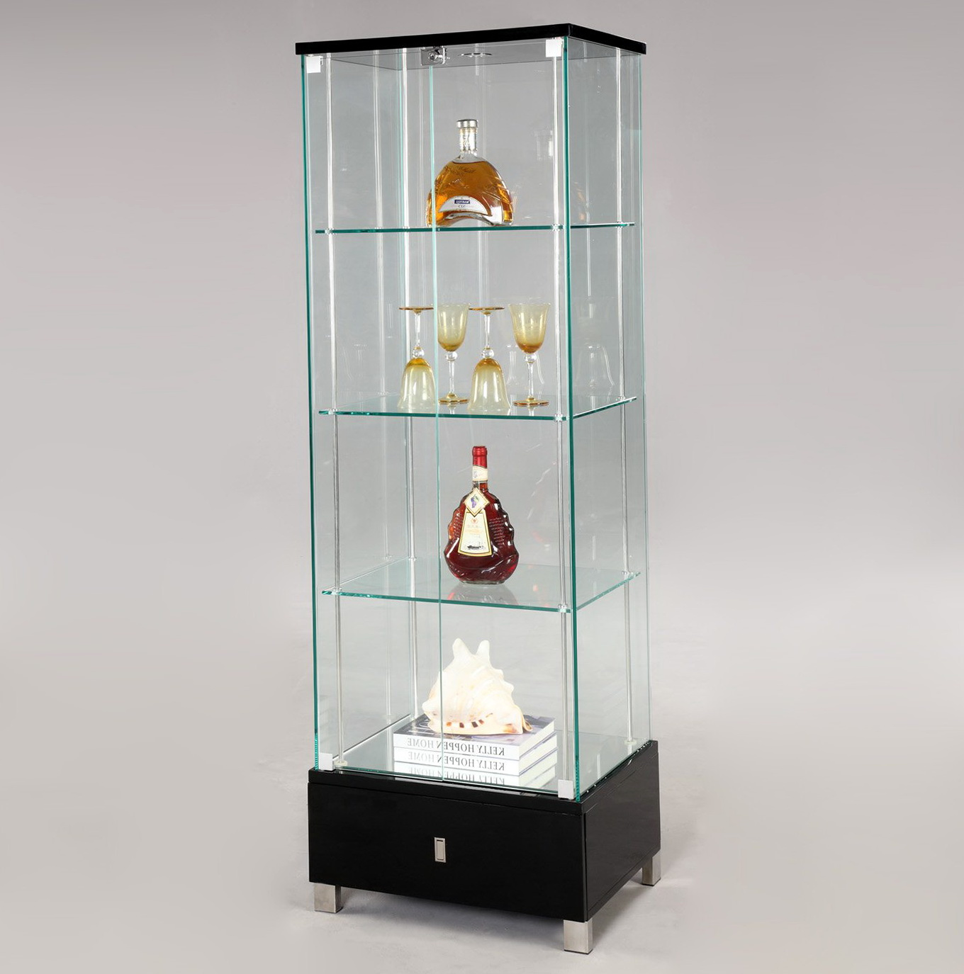 Glass Curio Cabinets For Sale