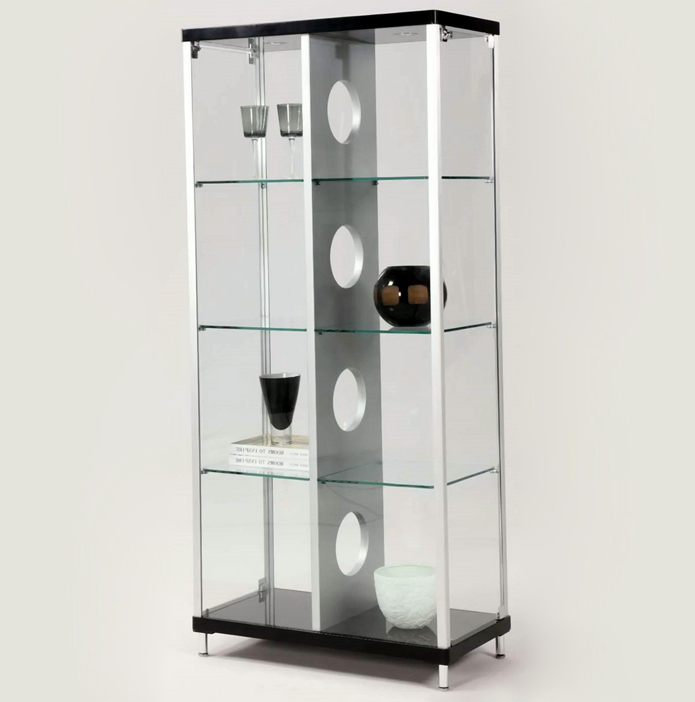Glass Curio Cabinets With Lights
