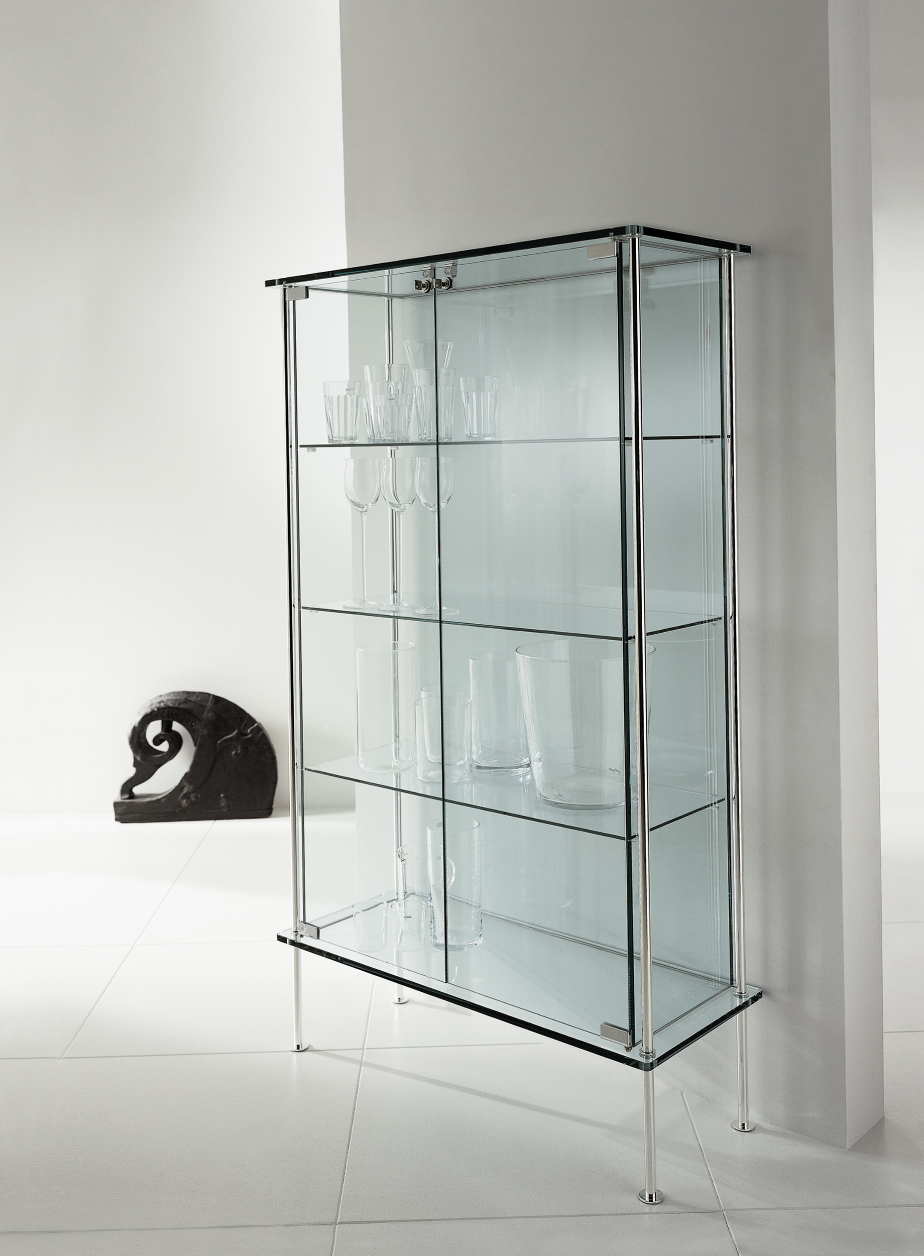 Glass Display Cabinet Design