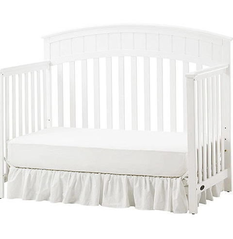 Graco White Toddler Bed
