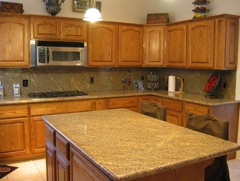 Granite Kitchen Countertops Images