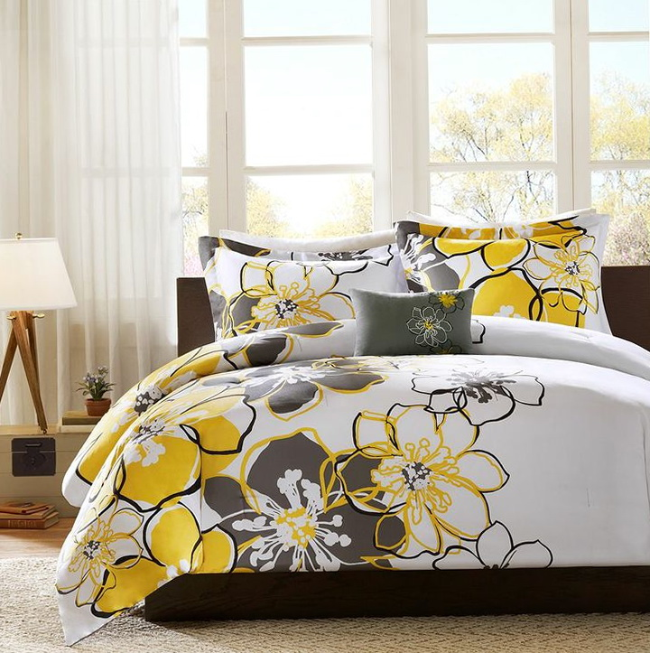 Grey And Yellow Bedding Kohls