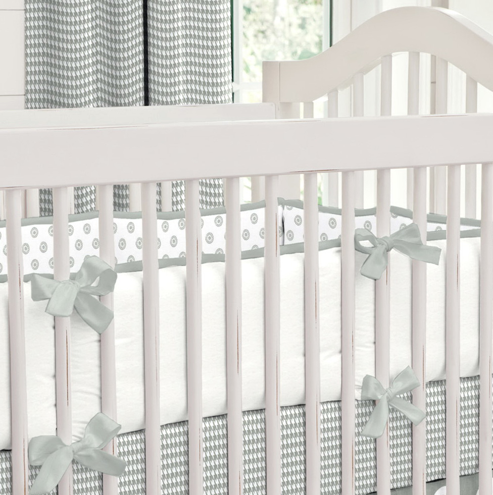 Grey Elephant Baby Bedding