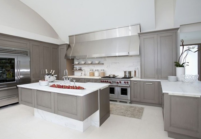 Grey Kitchen Cabinets Ikea