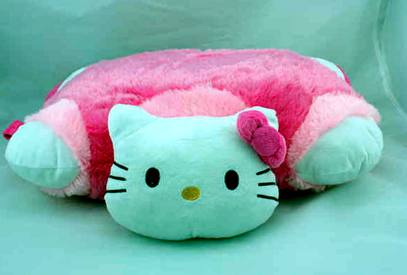 Hello Kitty Bed Rest Pillow