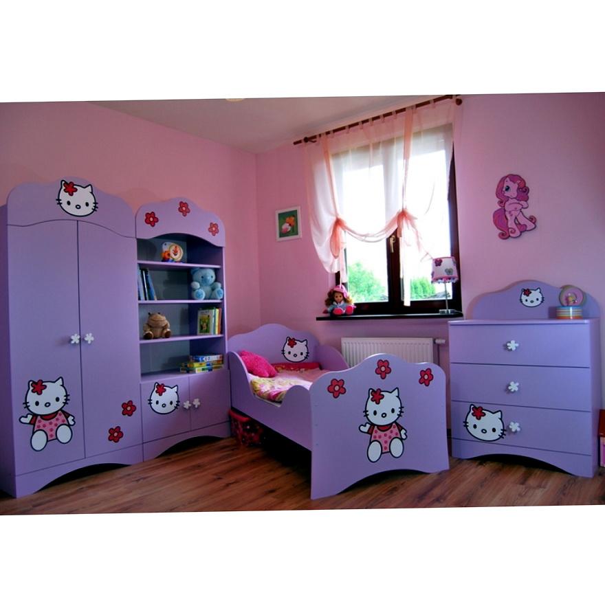 Hello Kitty Bedroom Furniture Set