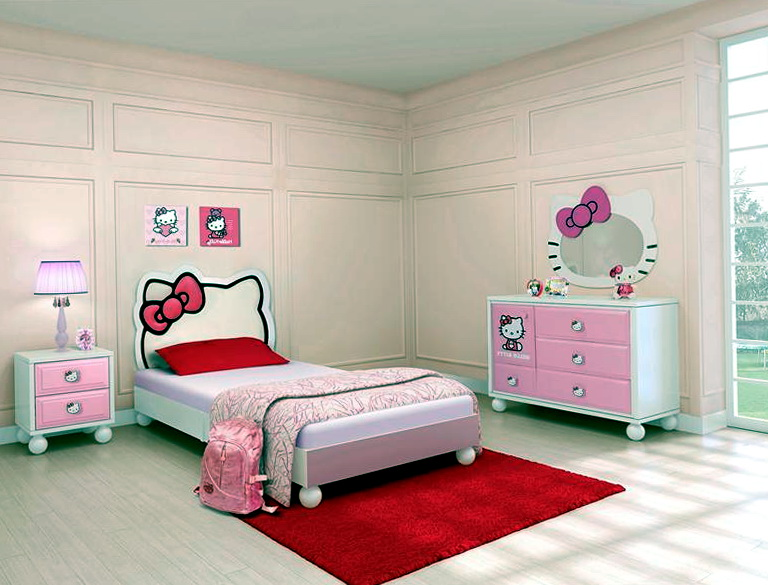 Hello Kitty Bedroom Set Full