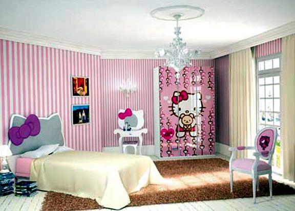 Hello Kitty Bedroom Set Furniture