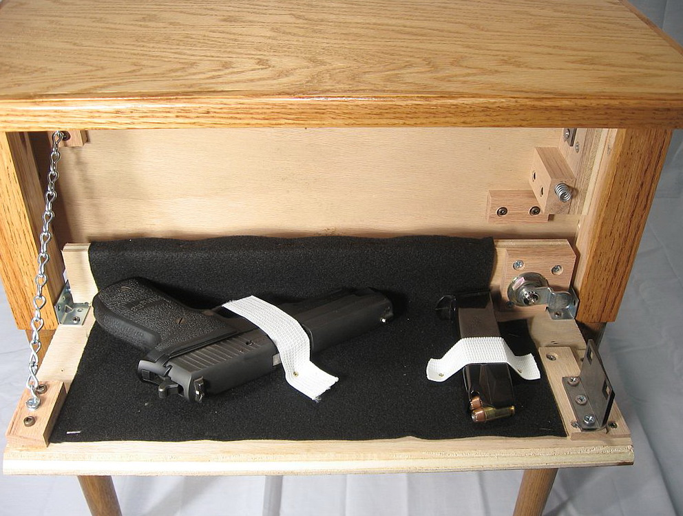 Hidden Gun Cabinet In Plain Sight