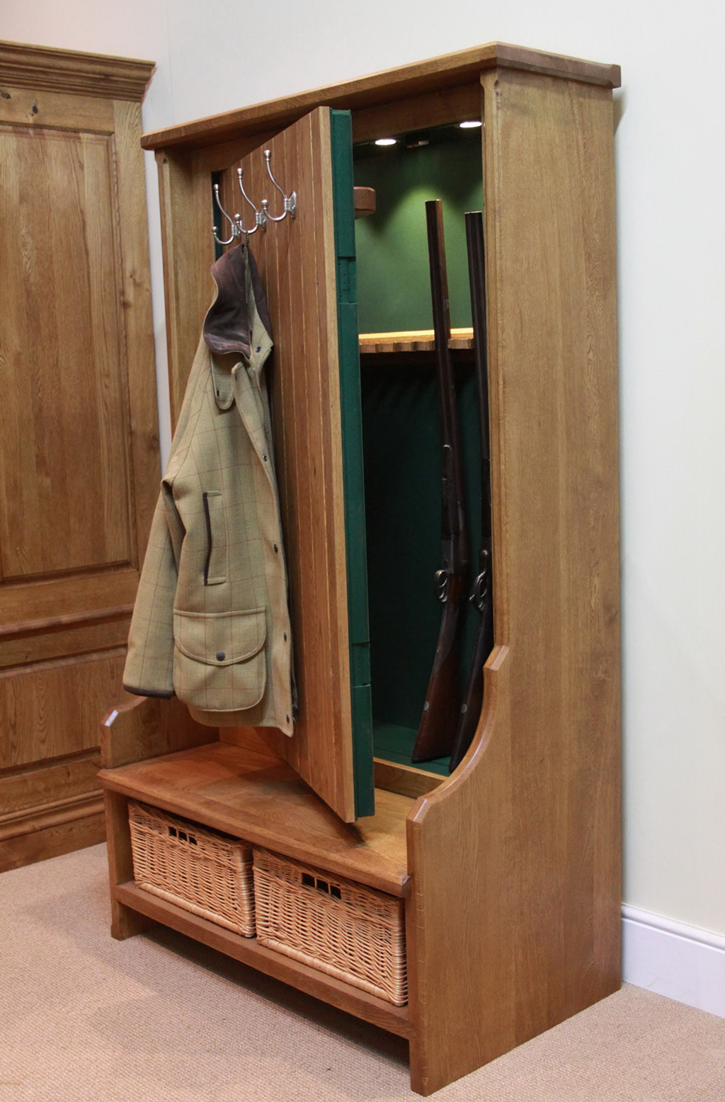 Hidden Gun Cabinet Plans