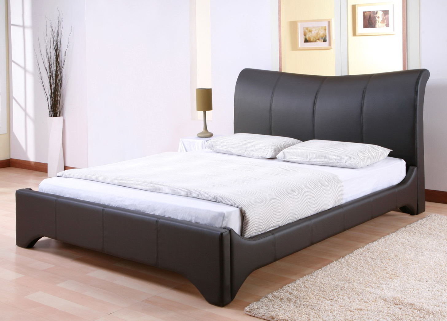High Bed Frame Queen Size