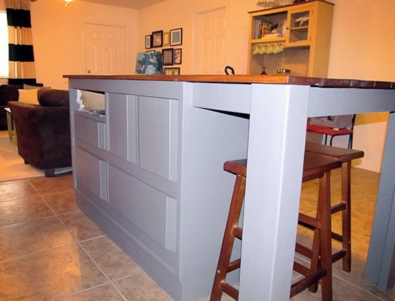 Homemade Kitchen Islands Ideas