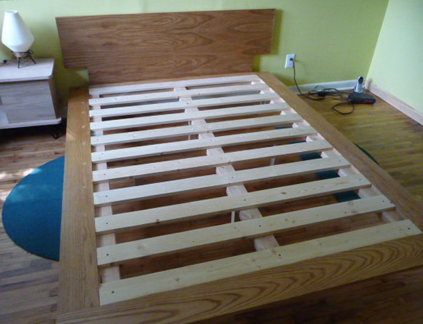 How To Build A Queen Size Platform Bed