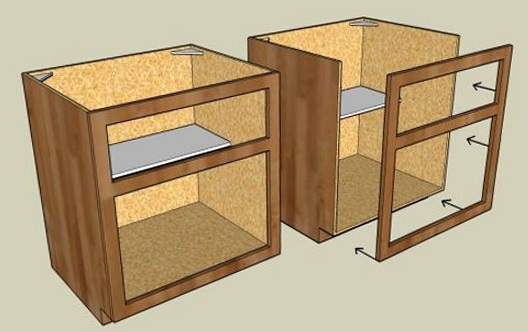 How To Build Free Standing Kitchen Cabinets