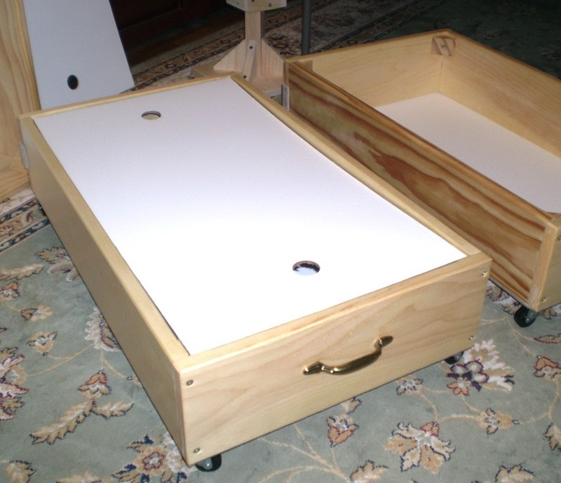 How To Build Under Bed Storage Drawers