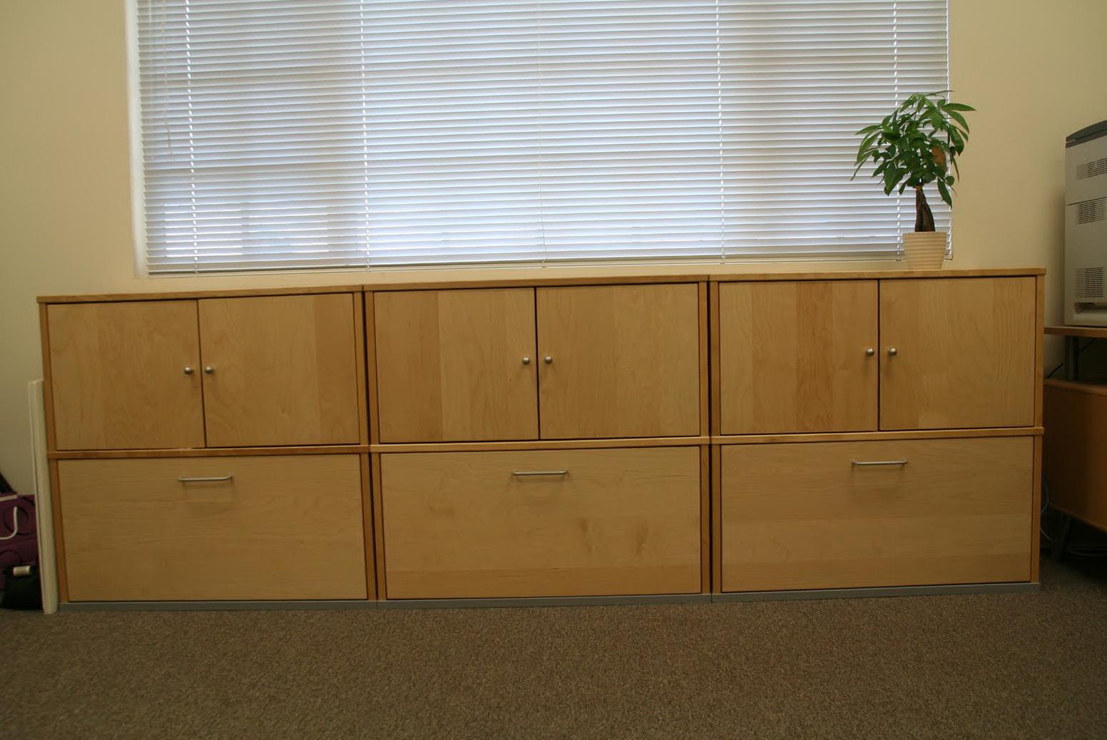 Ikea Filing Cabinet Wood