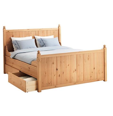 Ikea Storage Bed King