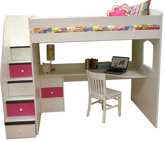 Ikea Twin Loft Bed With Desk