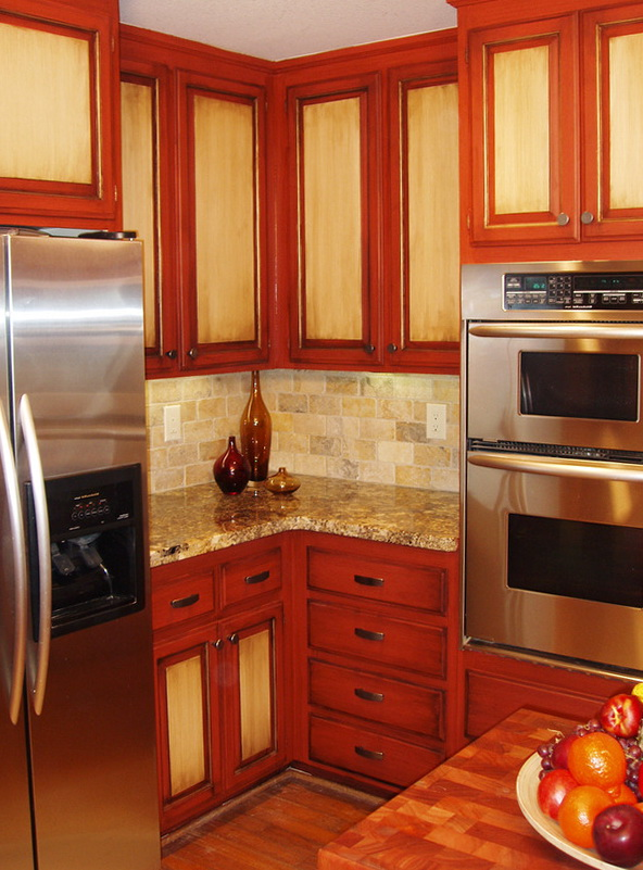 Images Of Two Tone Kitchen Cabinets