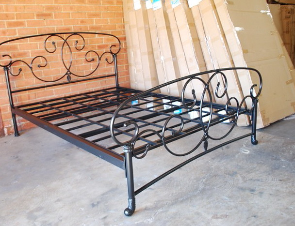 Iron Bed Frame Queen