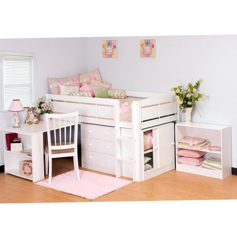 Junior Loft Bed With Desk