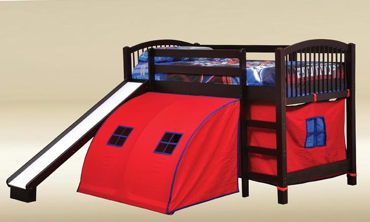 Junior Loft Bed With Slide