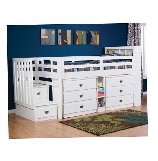 Junior Loft Bed With Storage