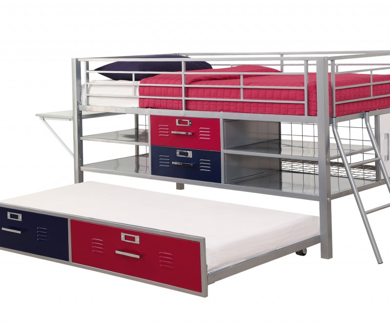 Junior Loft Bed With Trundle