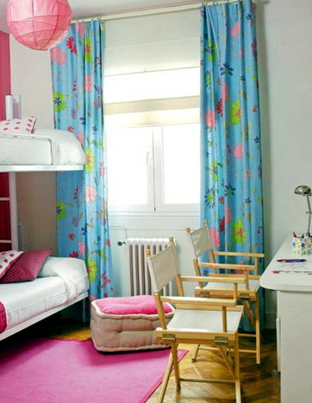 Kids Bedroom Curtain Ideas