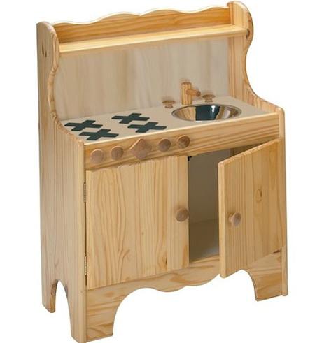 Kids Play Kitchen Wood