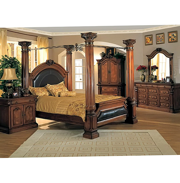 King Size Canopy Poster Bedroom Sets